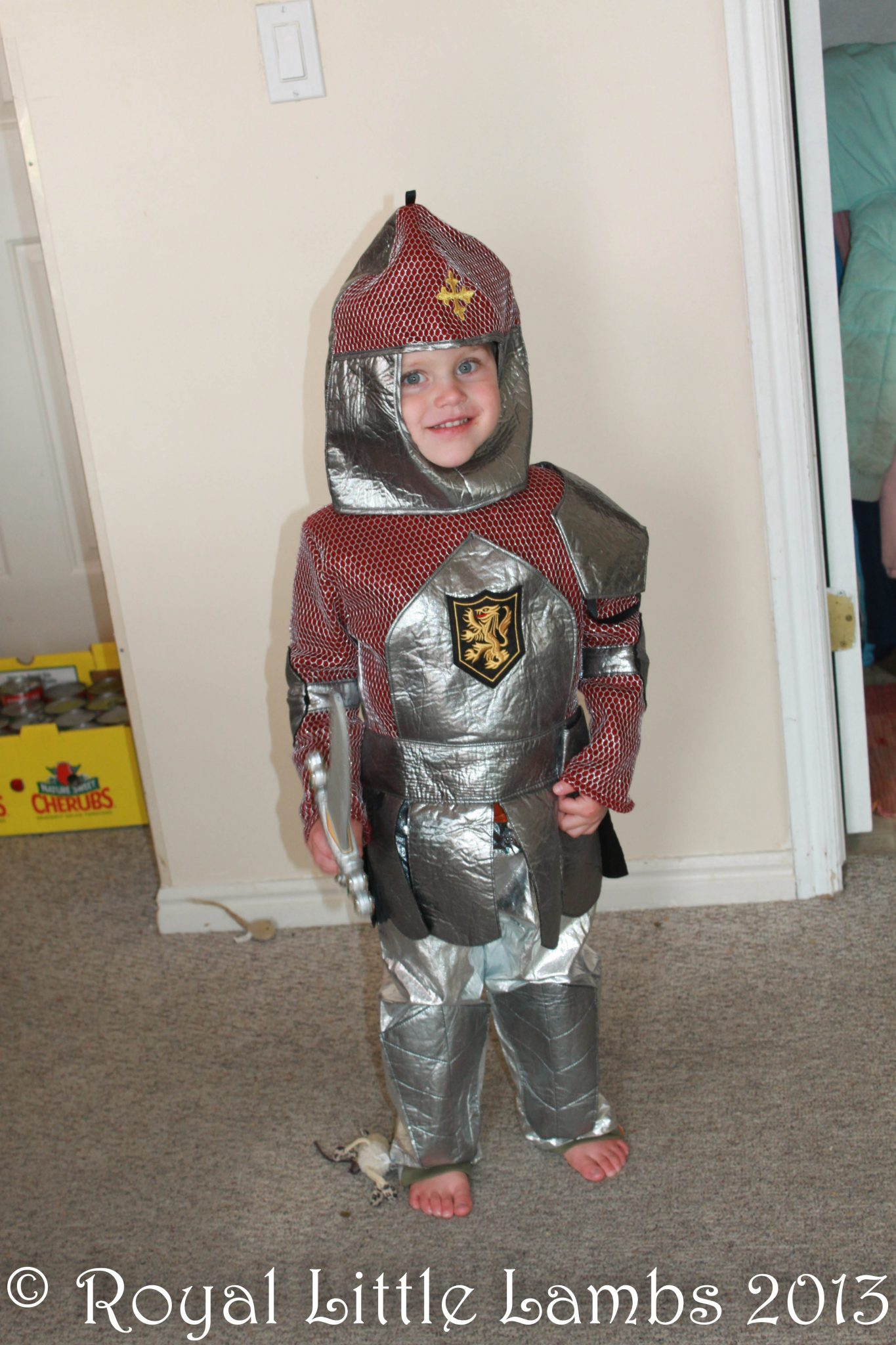 My knight in shining armor