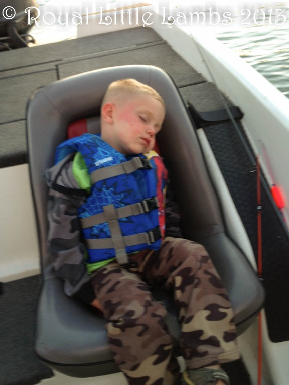 worn out after fishing