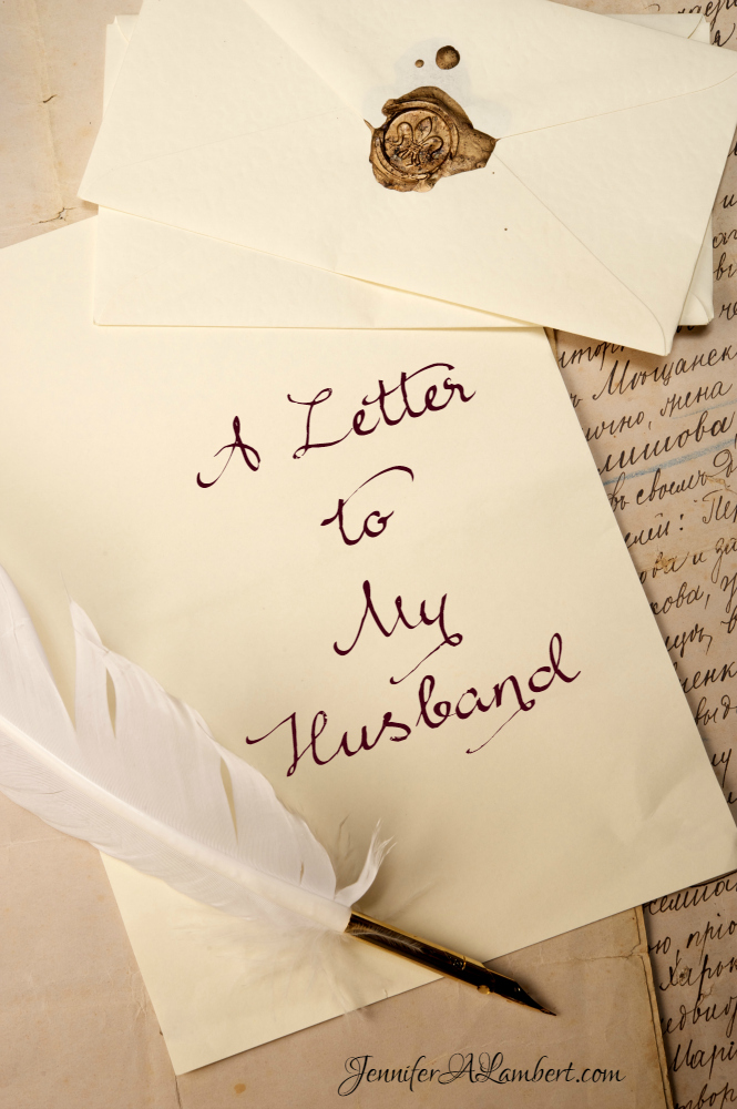 Thank You Letter To My Husband from www.jenniferalambert.com