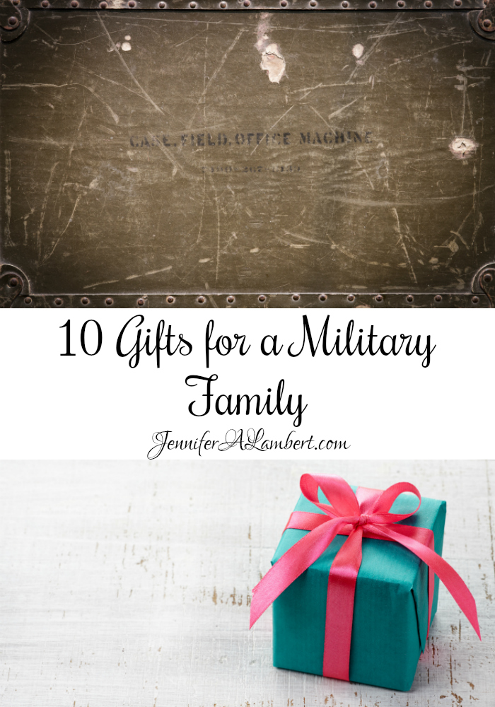 10 Gifts for a Military Family