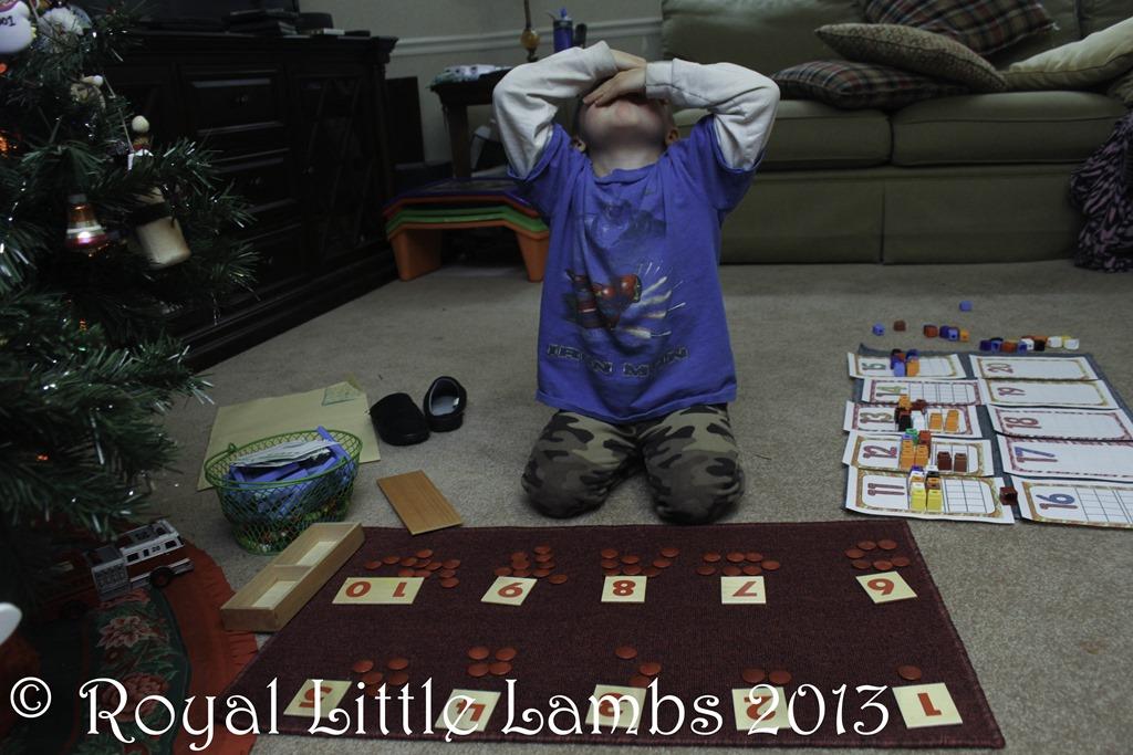 Montessori counting
