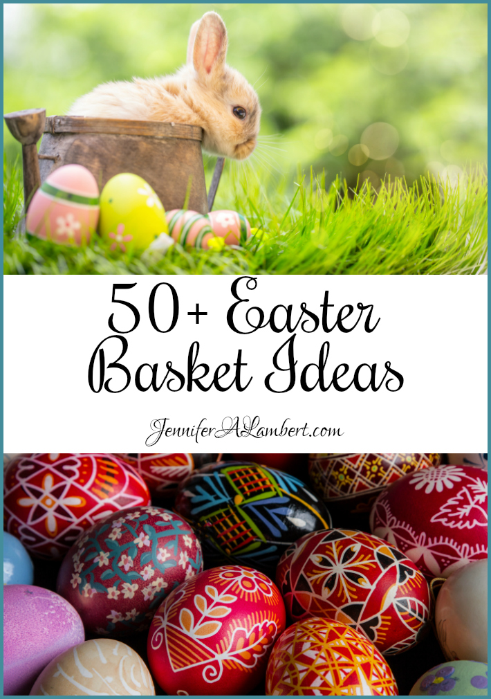 50 easter basket ideas i have a list of 50 easter basket ideas other than candy negle Choice Image
