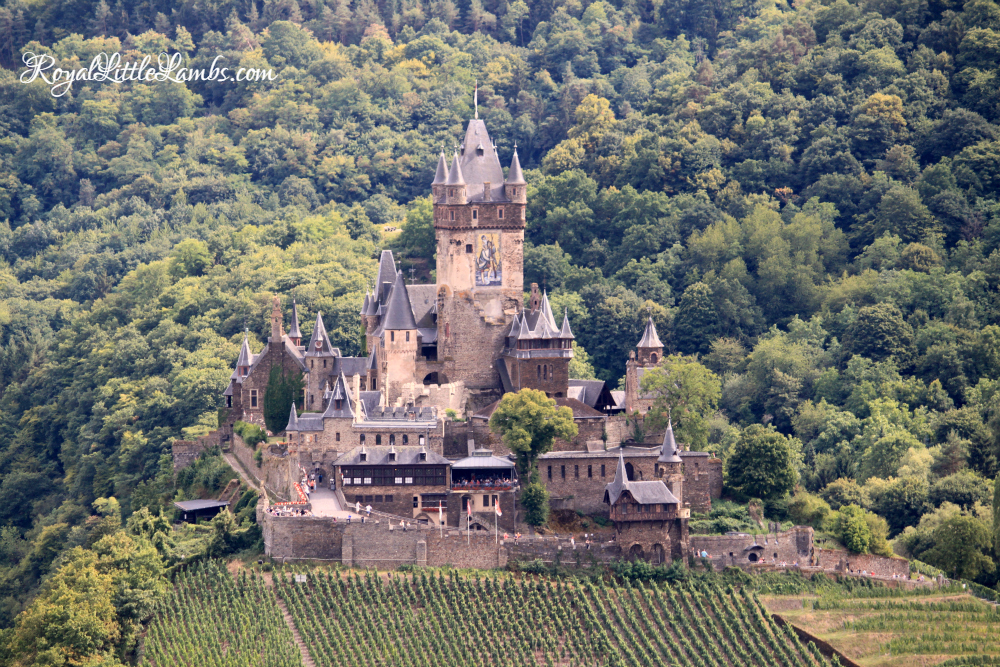 Cochem Town and Reichsburg Castle is a great day trip from the KMC. Fun for the whole family with a chair lift and lots of festivals.