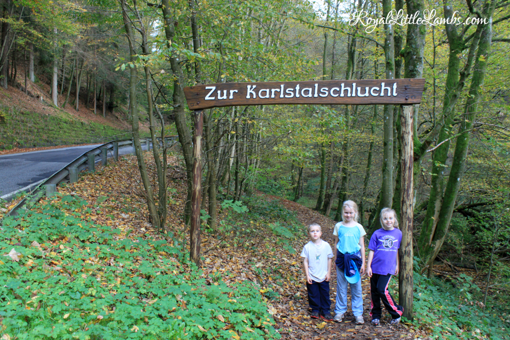 Entrance to Karlstalschlucht