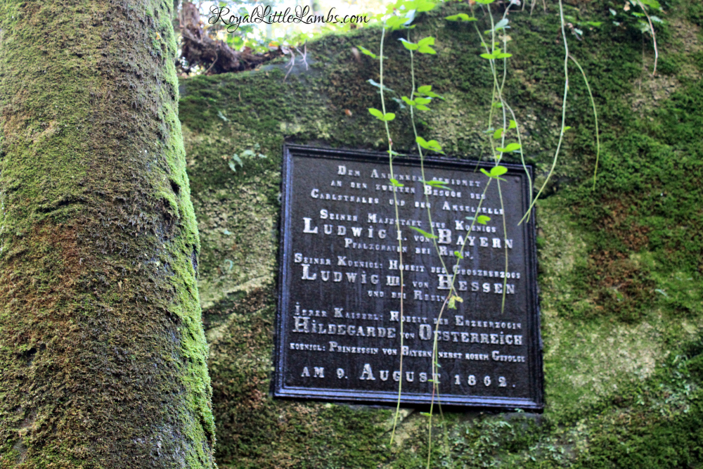 Karlstalschlucht Entrance Sign