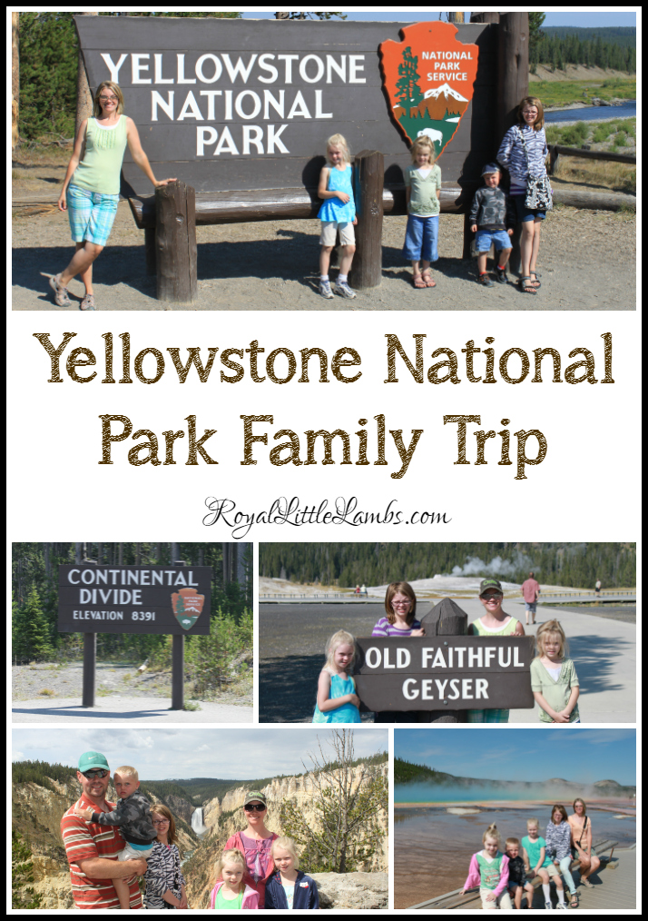 Yellowstone National Park Family Trip