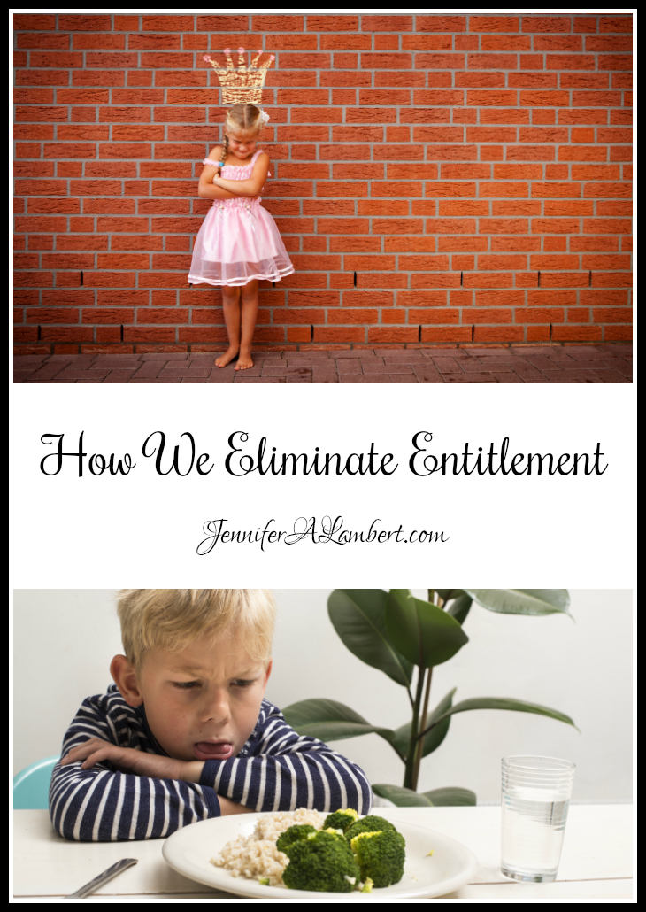 How We Eliminate Entitlement