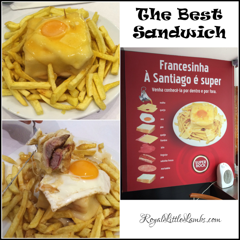 Francesinha Sandwich from Santiago