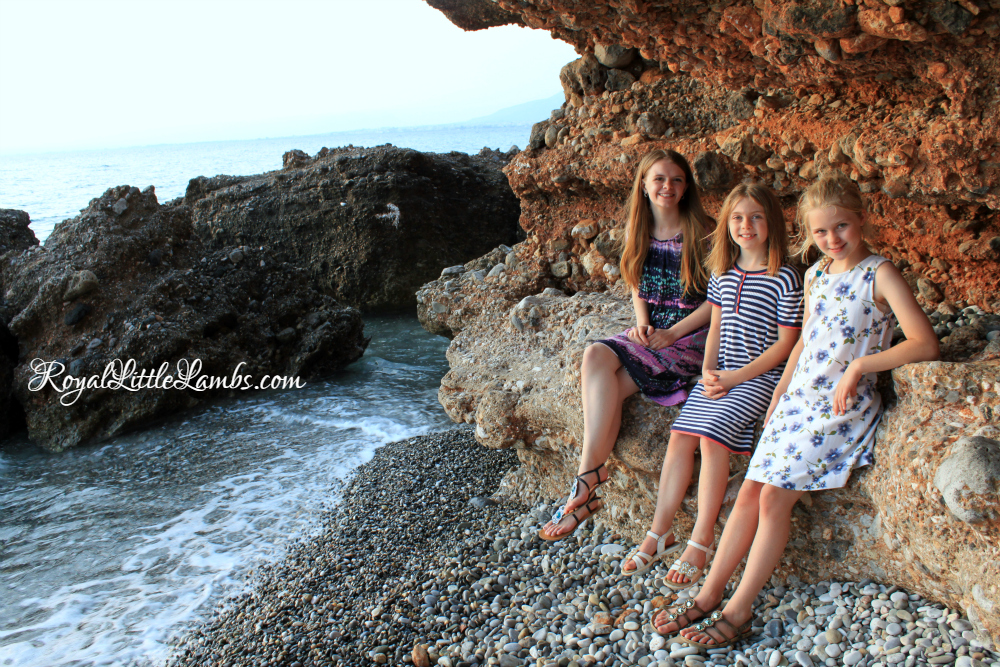 My Girls at Kalamata Beach