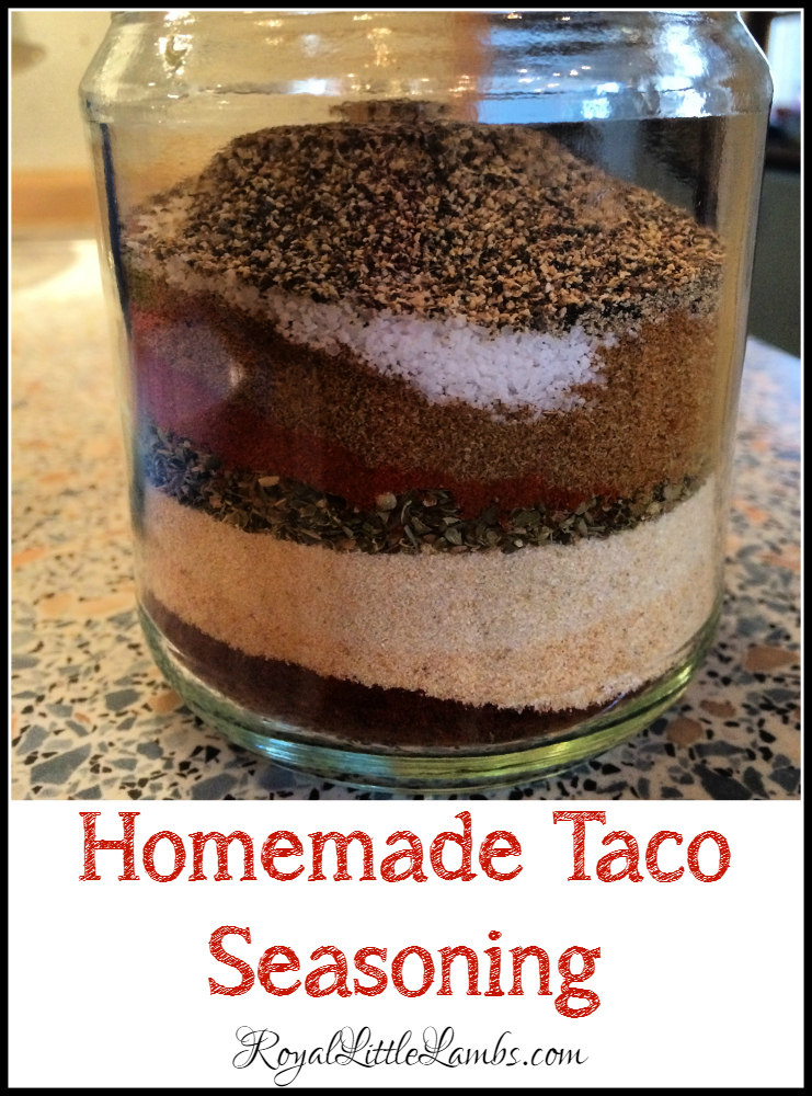 Homemade Taco Seasoning - Frugal and Healthier