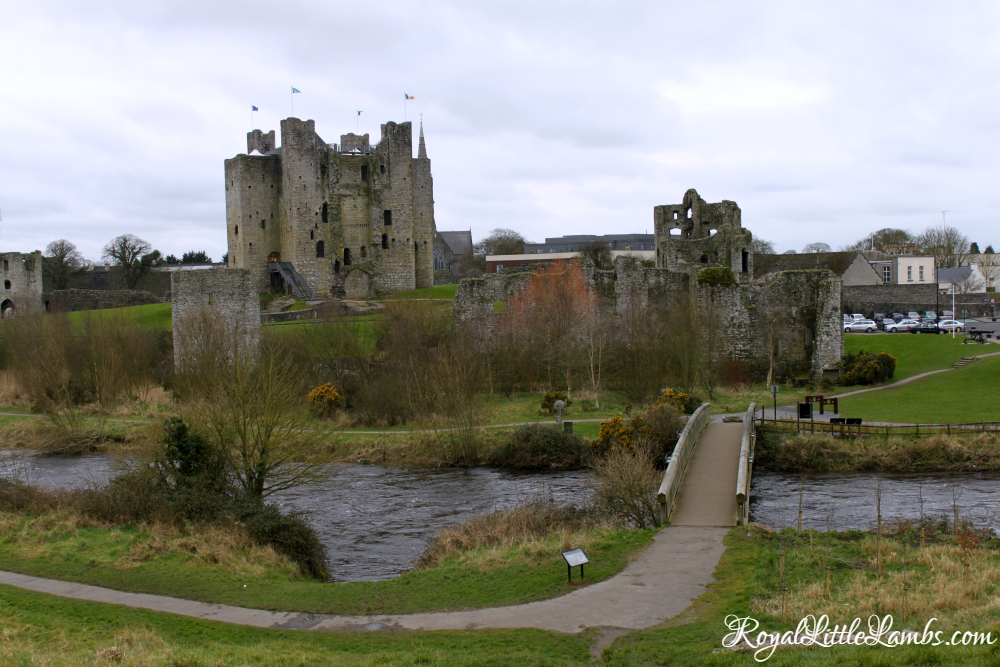 Trim Castle on the River Boyne