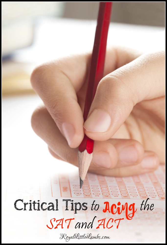 Critical Tips to Acing the SAT and ACT
