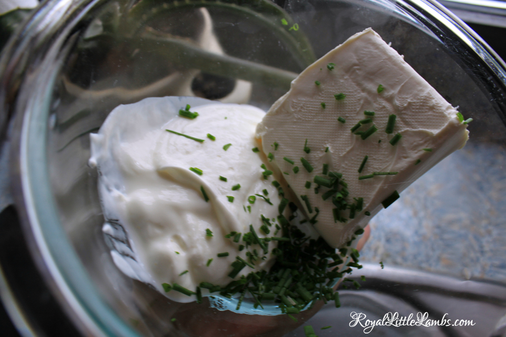 Cream Cheese with Chives and Yogurt