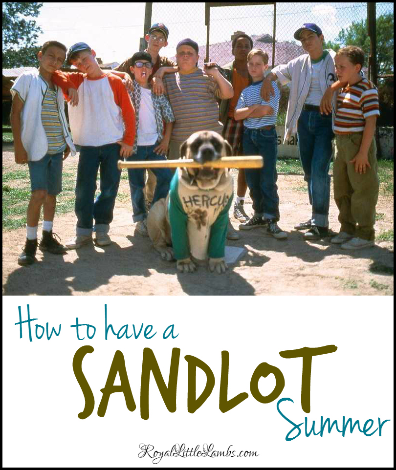10 Ways to Have a Sandlot Summer