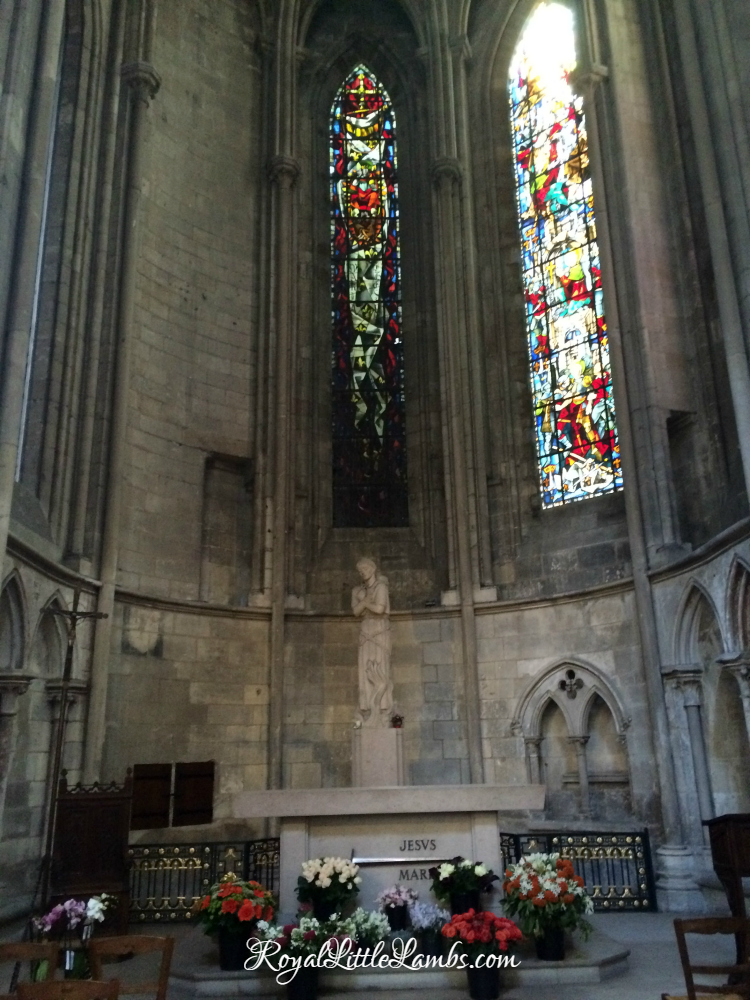 Joan of Arc Chapel in Rouen Cathedral