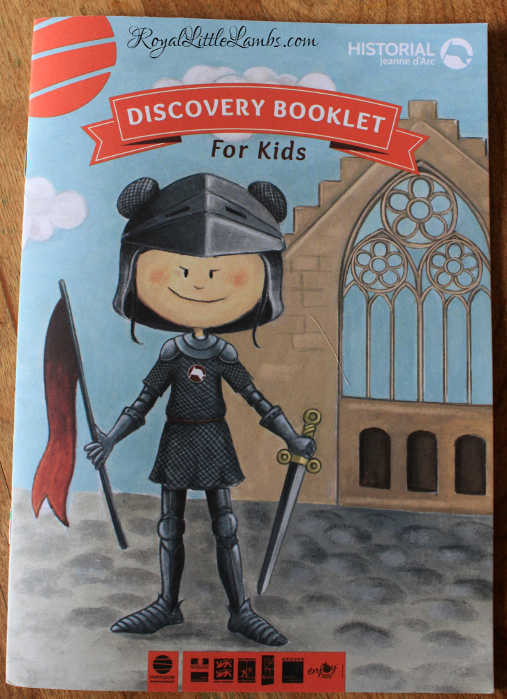 Joan of Arc Museum Discovery Booklet for Kids
