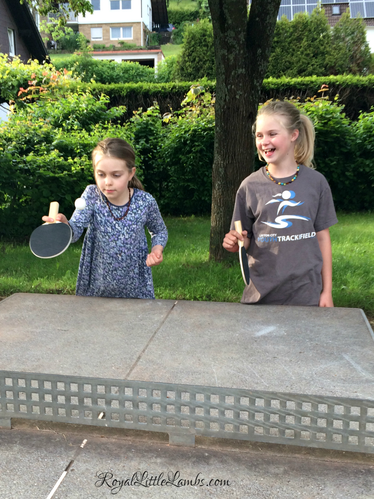 Ping Pong at the Park