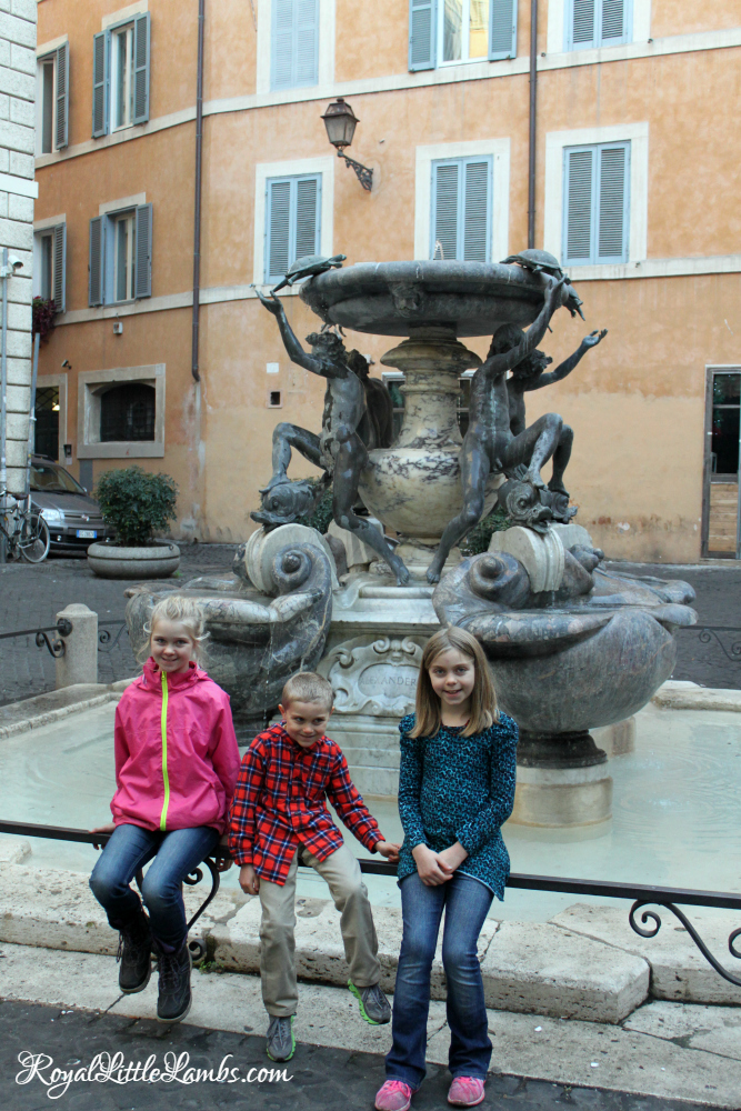 Bernini's Turtle Fountain