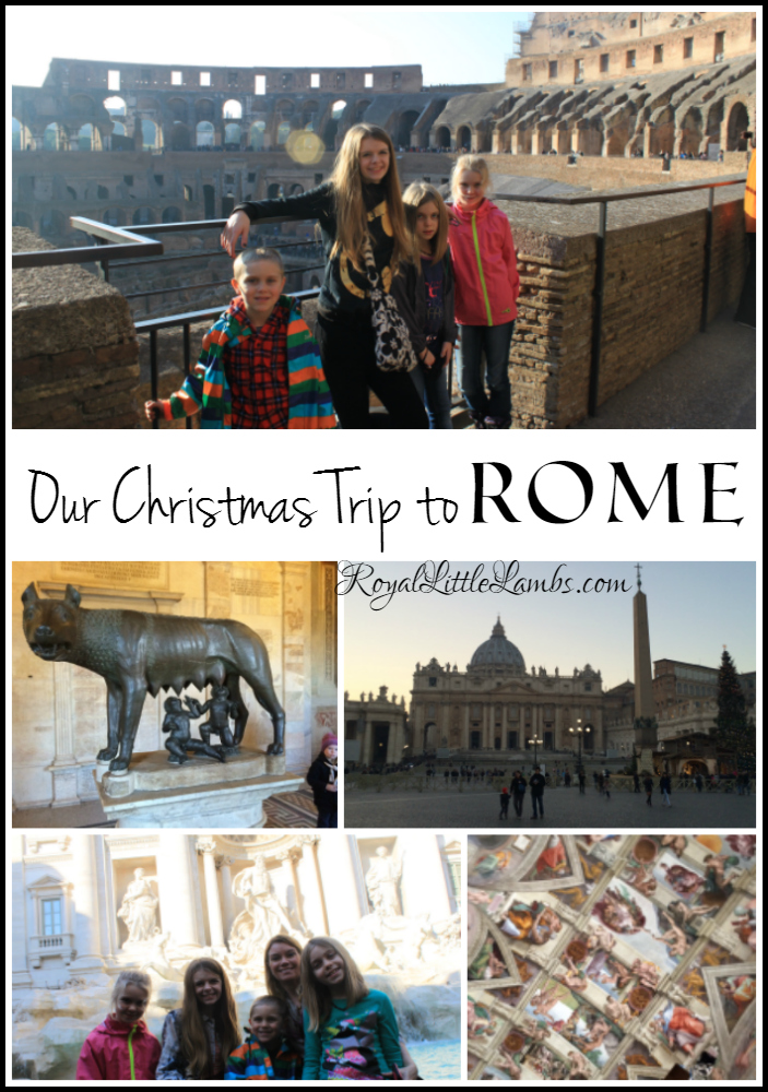 Our Christmas Trip to Rome