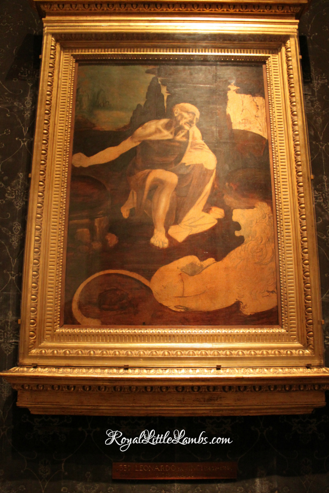 St Jerome in the Wilderness by Leonardo da Vinci