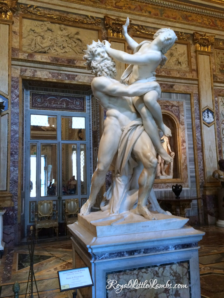 The Rape of Proserpina Front