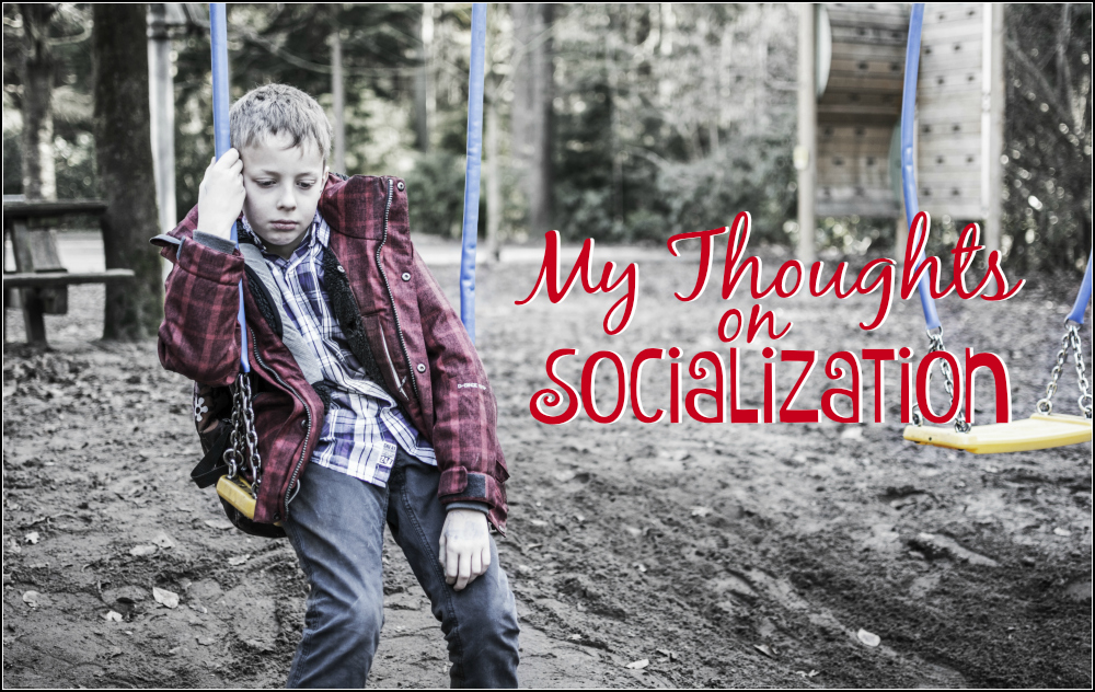 My Thoughts on Socialization