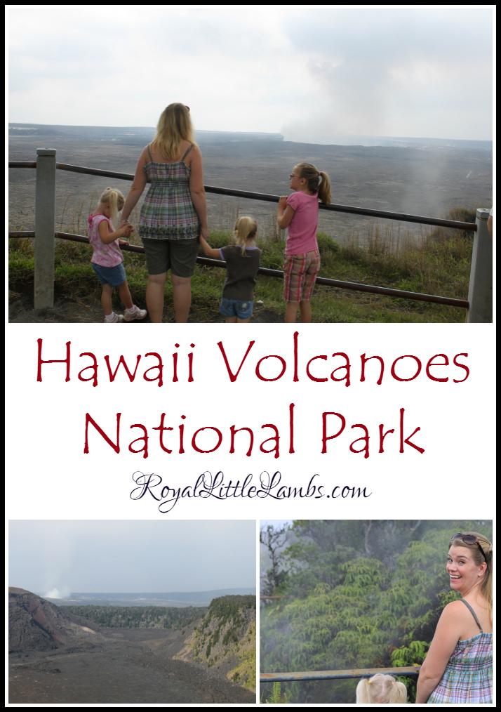 Hawaii Volcanoes National Park Family Trip