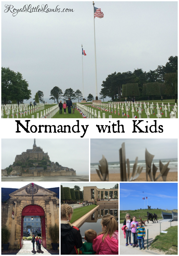 Normandy with Kids