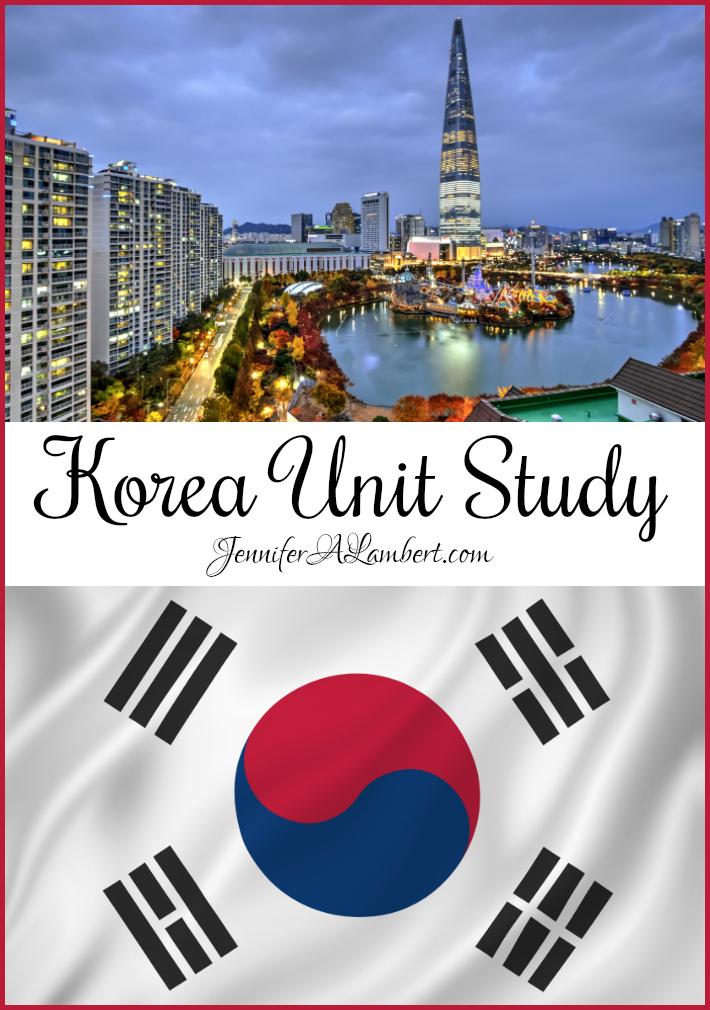 Korea Unit Study