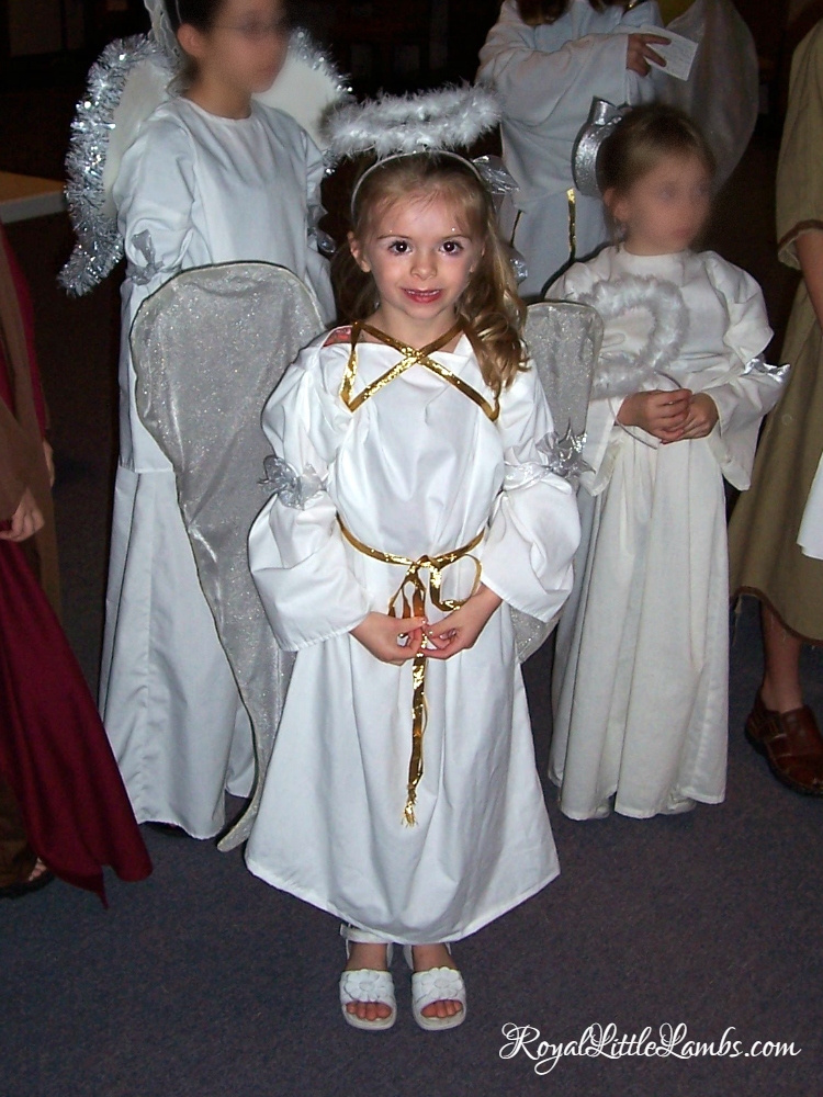 Angel in the Church Christmas Pageant