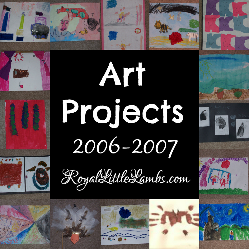 Art Projects 2006 through 2007
