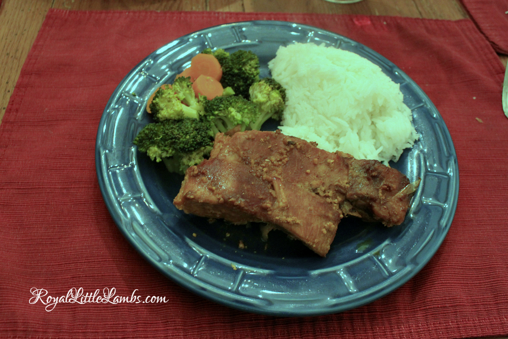 Slow Cooker Asian Pork Ribs