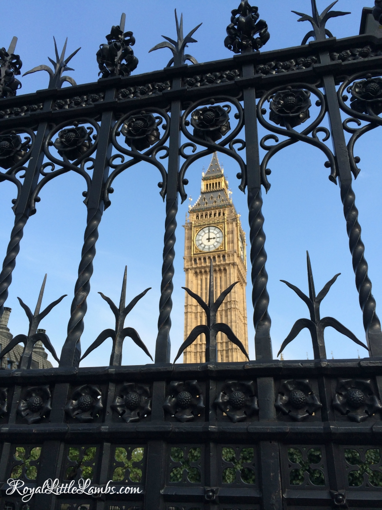 Big Ben in the Fence