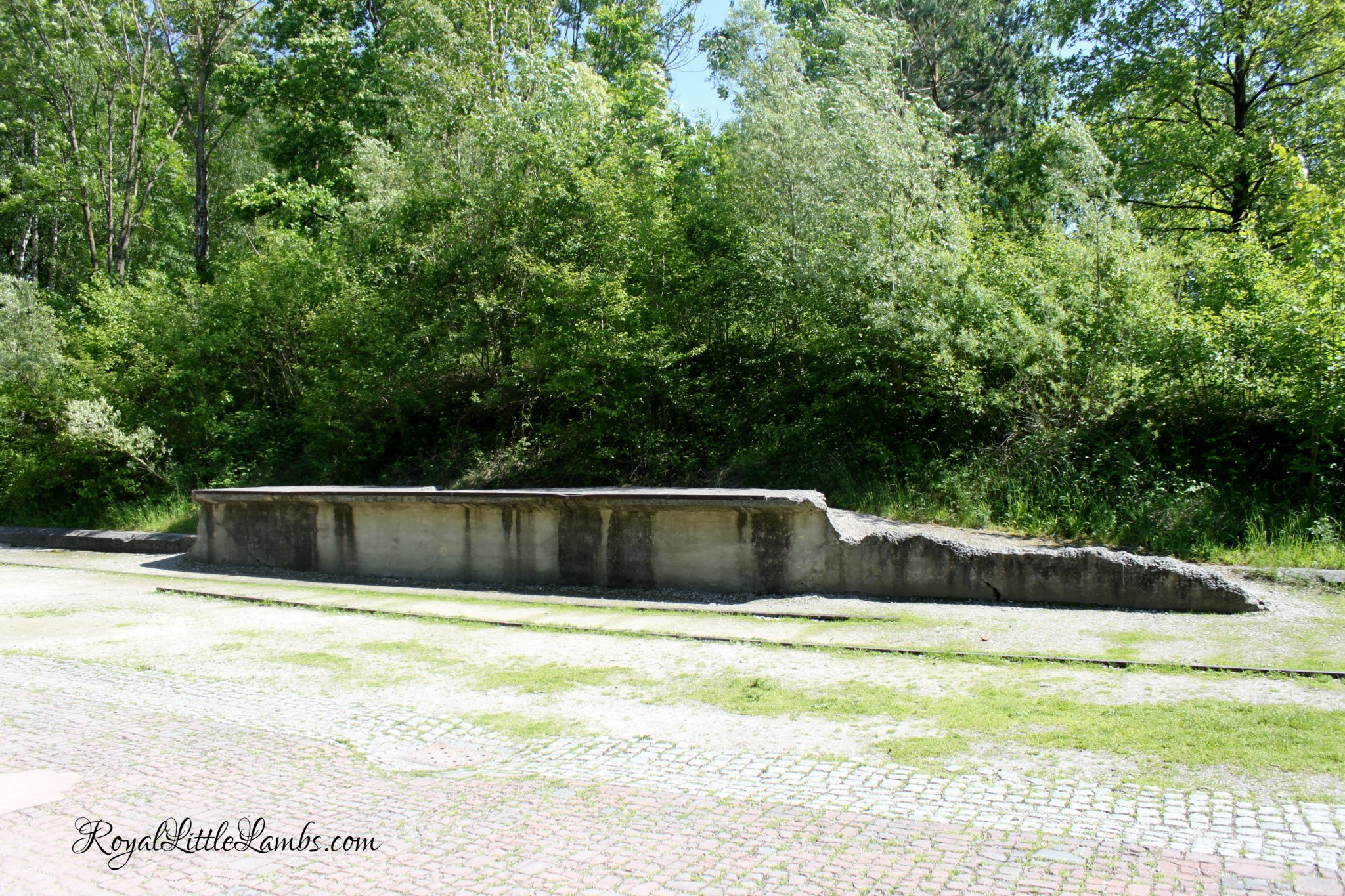 Dachau Railroad Track and Platform