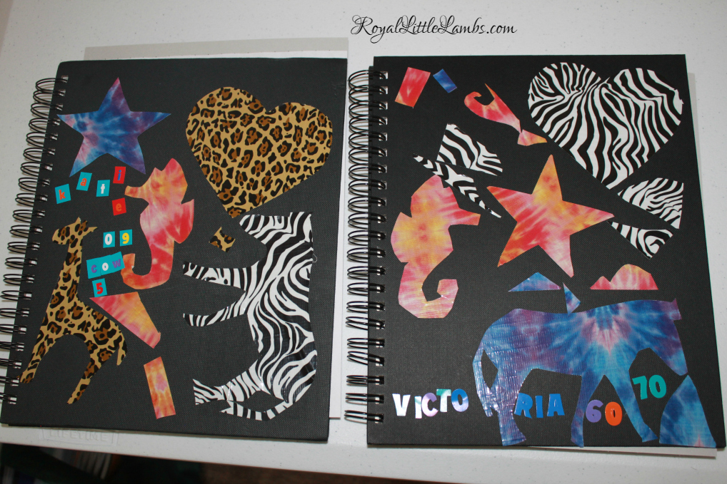 Decorated Math Journals