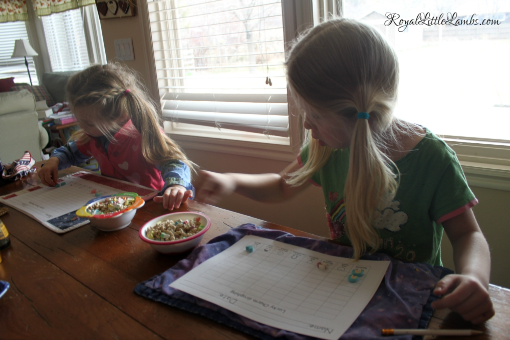 Graphing Lucky Charms cereal