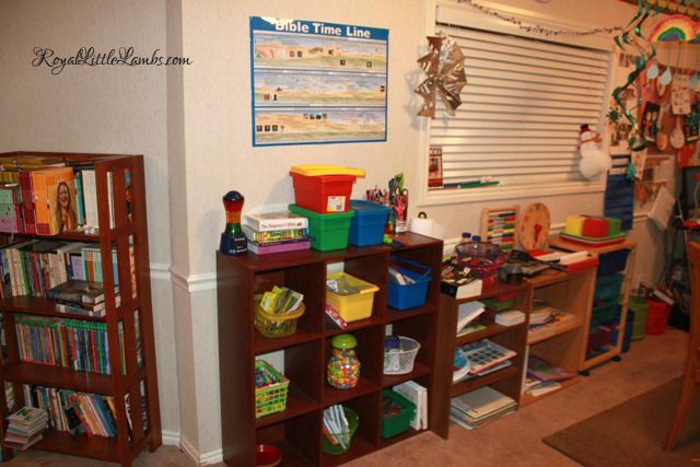 Montessori Trays and Shelves