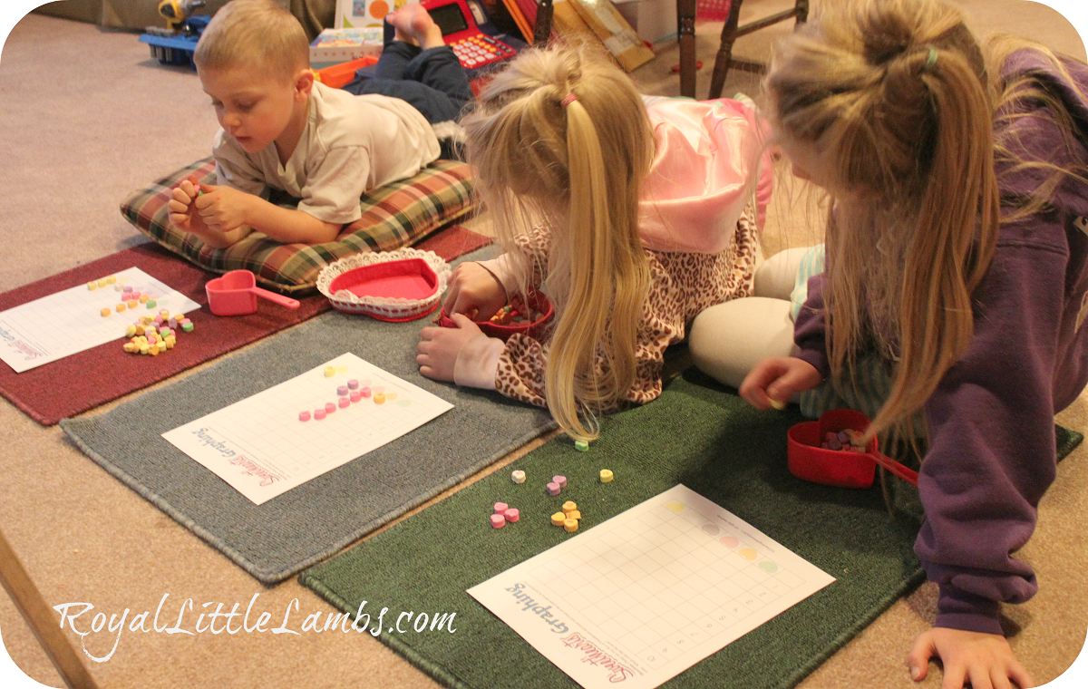 Montessori rugs graphing activity
