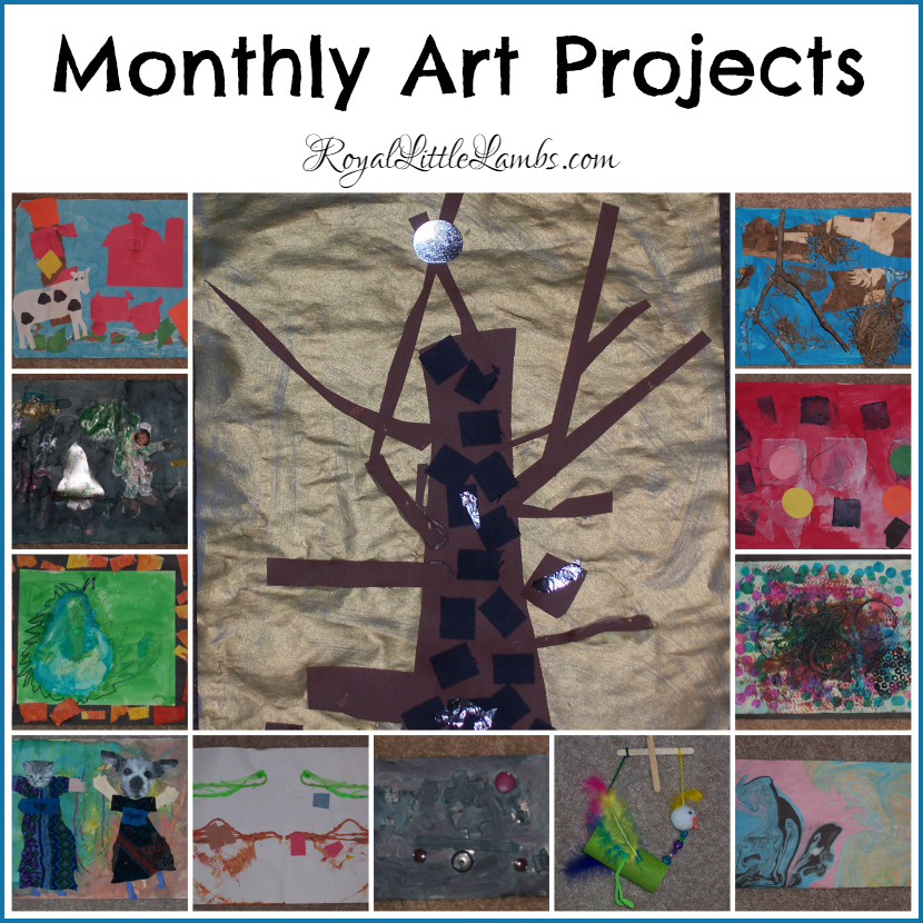 Monthly Art Projects