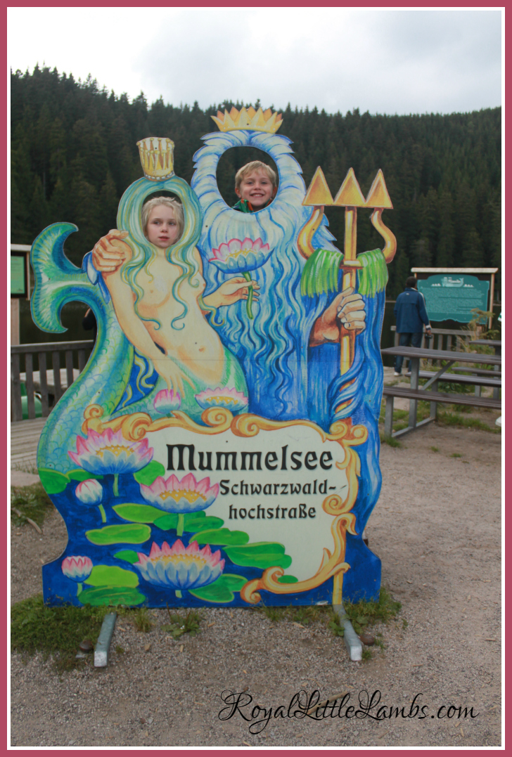Mummelsee in the Black Forest