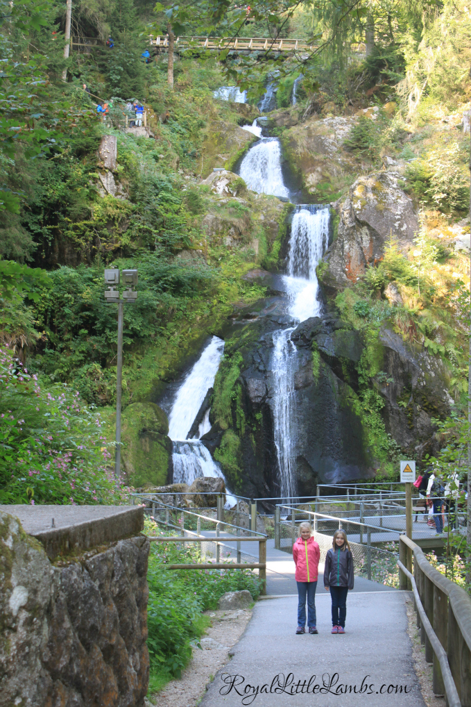 Our First View of Triberg Falls