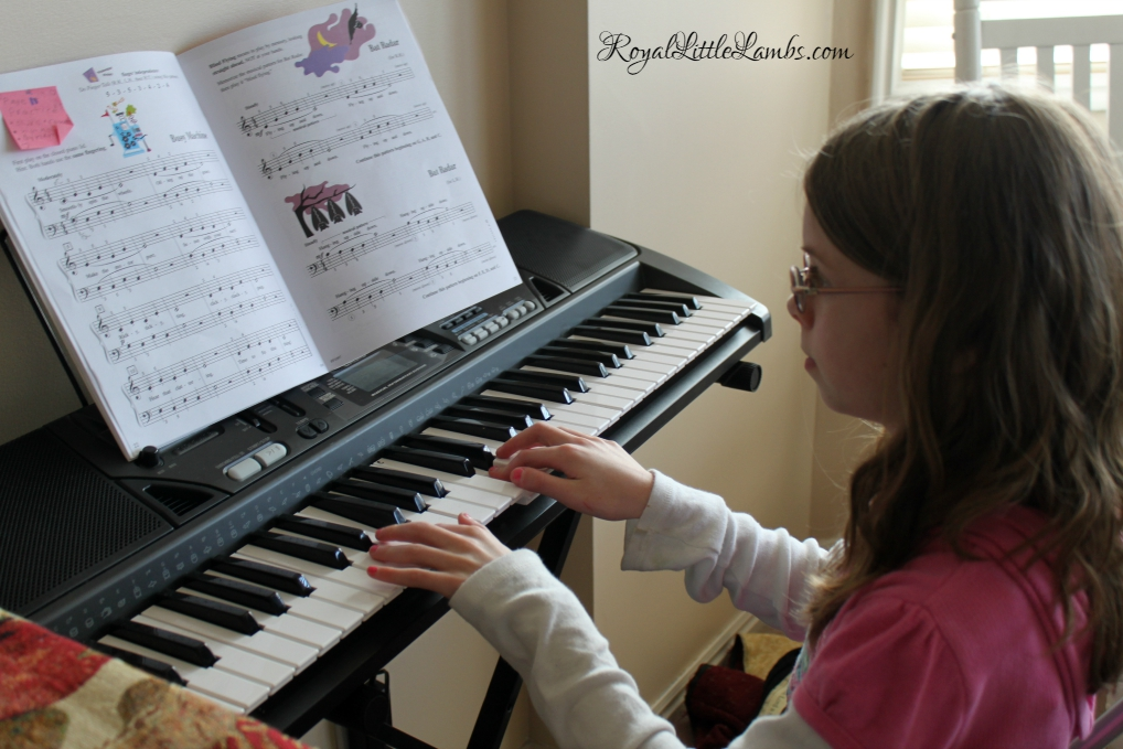 Practicing Piano