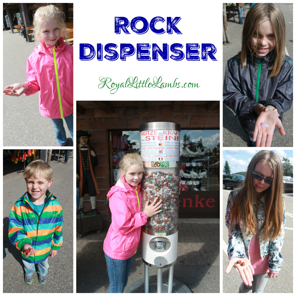 Rock Dispenser