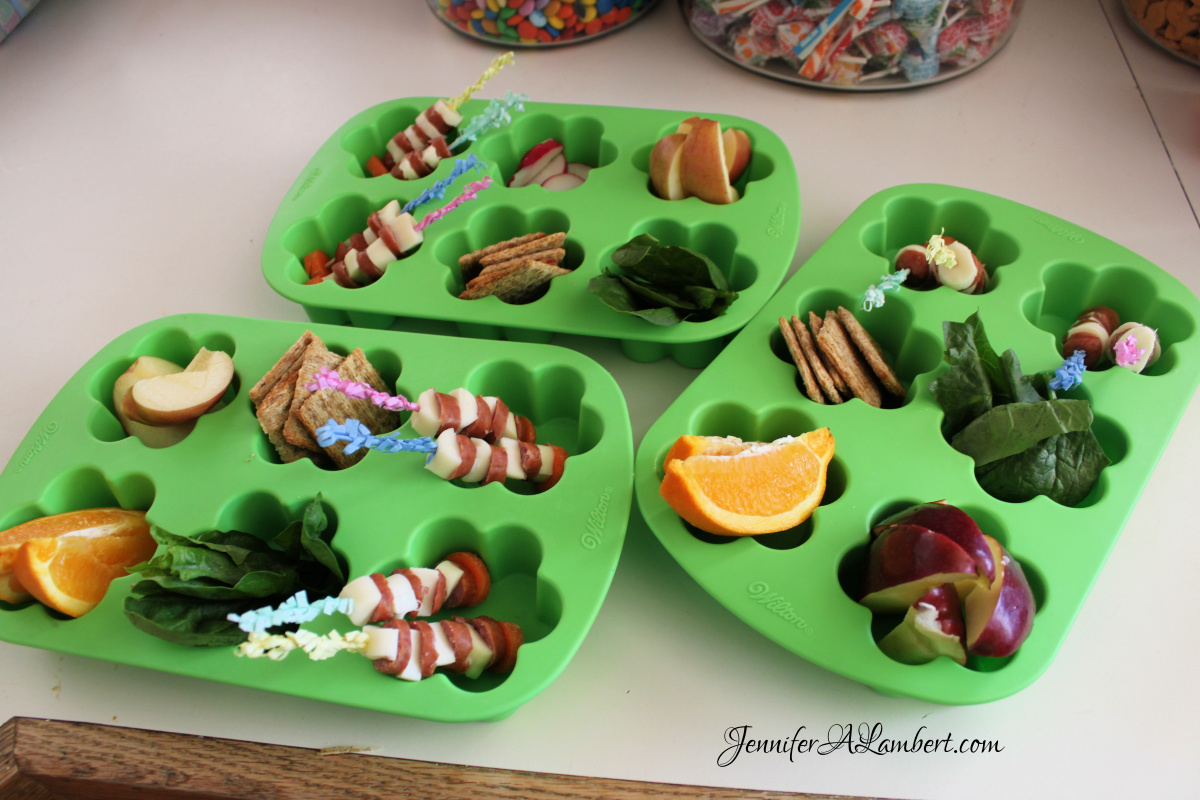 Shamrock Muffin Tin Meal