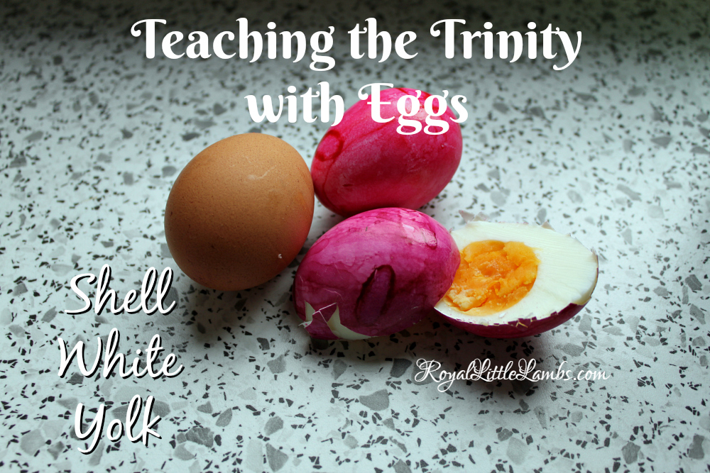 Teaching the Trinity with Eggs