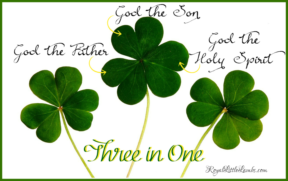 Teaching the Trinity with Shamrocks