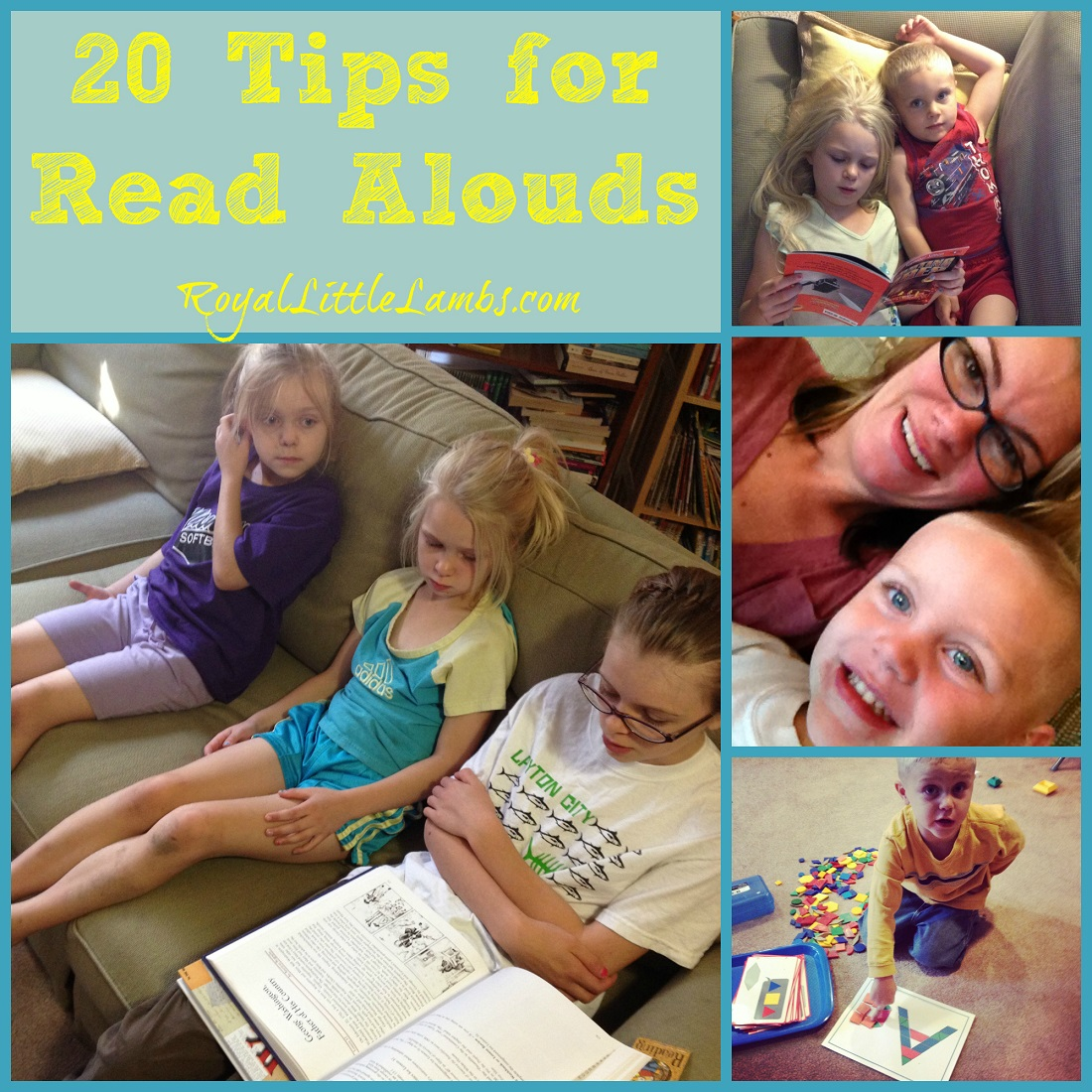 20 Tips for Read Alouds