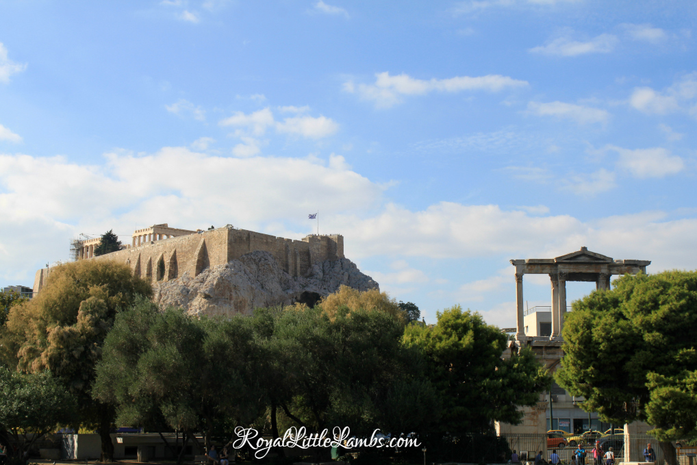 Acropolis and Hadrian's Arch