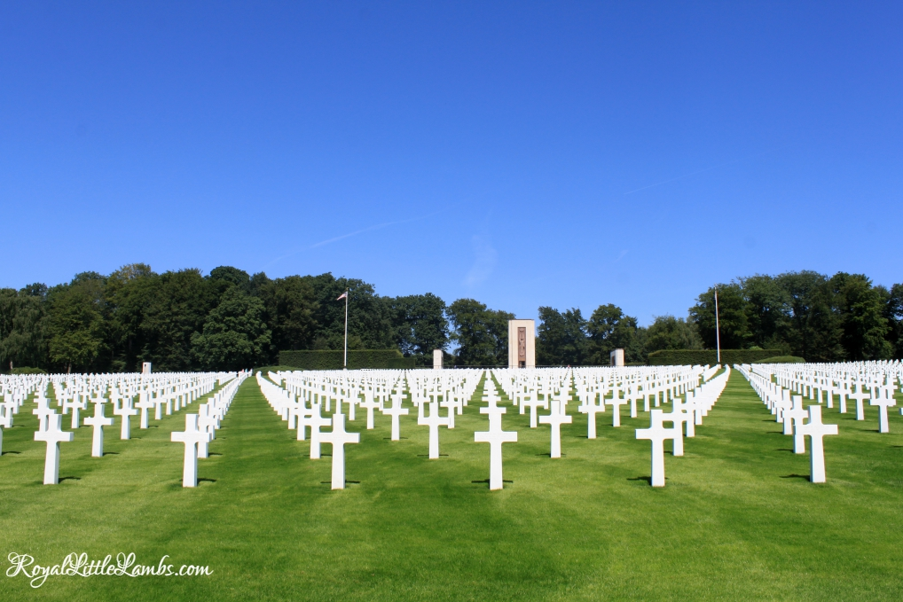 American Military Cemetery Luxembourg-Hamm