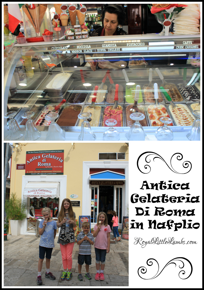 Antica Gelateria Di Roma in Nafplio
